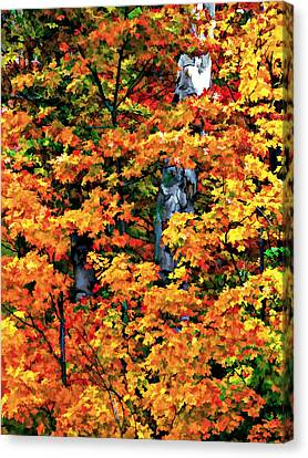 A Giant Passes Canvas Print by Steve Harrington