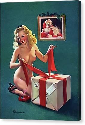 Canvas Print - A Gift For Santa by Long Shot
