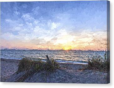 A Glass Of Sunrise II Canvas Print