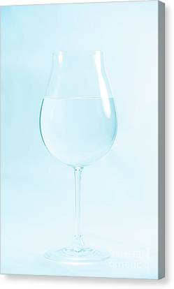 A Glass Of Water Canvas Print by Masako Metz
