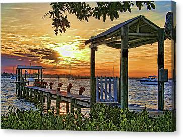 A Glorious Morning Canvas Print by HH Photography of Florida