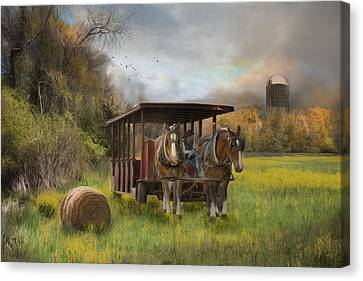 A Golden Day Canvas Print