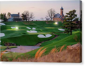 A Golfer's Paradise Canvas Print by Gregory Ballos