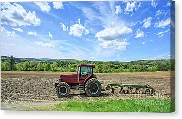 A Good Days Work Canvas Print