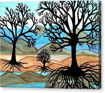 A Good Foundation Canvas Print by Connie Valasco