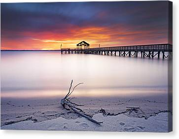 Canvas Print featuring the photograph A Good Morning by Edward Kreis