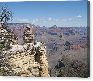 Grand Canyon Viewpoint Canvas Print