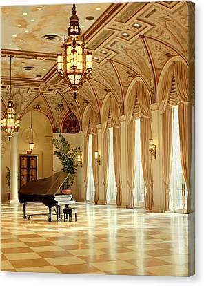A Grand Piano Canvas Print