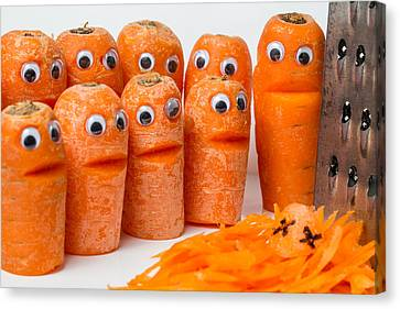 A Grate Carrot 2. Canvas Print by Gary Gillette