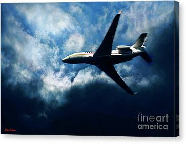 A Great Way To Get Were Your Going Canvas Print by Blake Richards