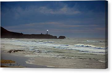 A Guiding Light Canvas Print by Jim Walls PhotoArtist