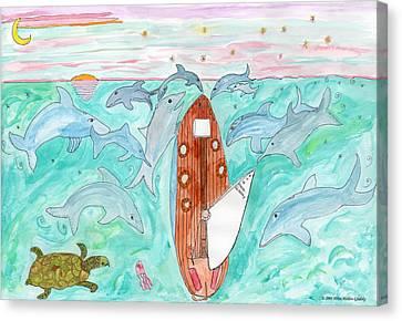 A Gulls View Canvas Print