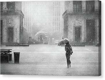 A Hard Rain's Gonna Fall Canvas Print
