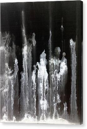 A Hard Water's Gonna Spray #1 Canvas Print