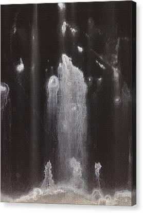 A Hard Water's Gonna Spray #3 Canvas Print