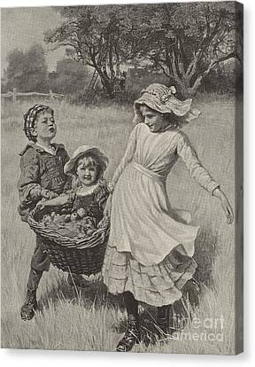 A Heavy Load Canvas Print by Frederick Morgan