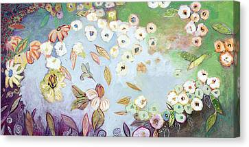 A Hidden Lagoon Canvas Print