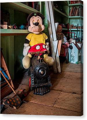 A Home For Mickey 2 Canvas Print