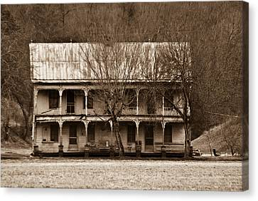 A House From The Past Canvas Print by Douglas Barnett