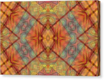 A Kaleidoscope Of Colors Canvas Print by Gina Lee Manley