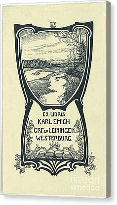 a Karl Emich Grf.zv Leiningen Canvas Print by MotionAge Designs