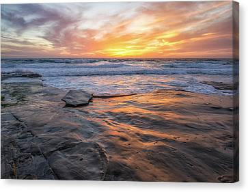A La Jolla Sunset #2 Canvas Print