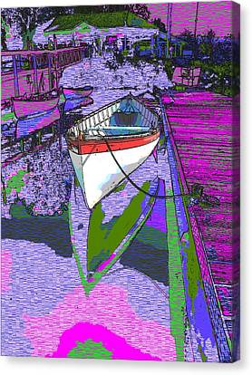 A Lakeside Wonderful Canvas Print by Tim Allen