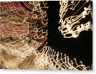 A Light Abstraction Canvas Print