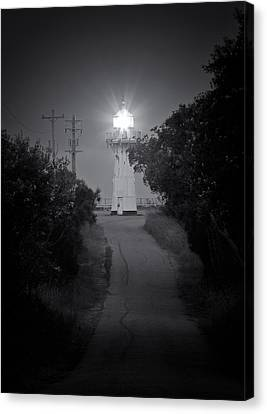 A Light In A Dark Place Canvas Print by Nicholas Blackwell