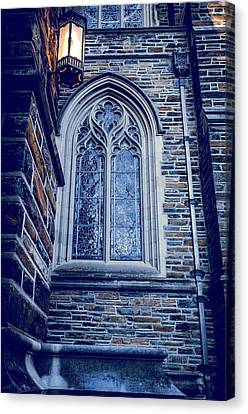 A Light Of The Duke Chapel  Canvas Print by Anthony Doudt