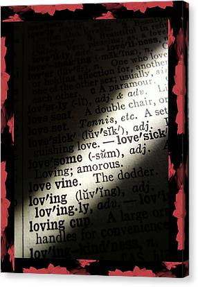 A Light On Love Canvas Print