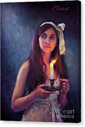 A Light Unto My Path Canvas Print