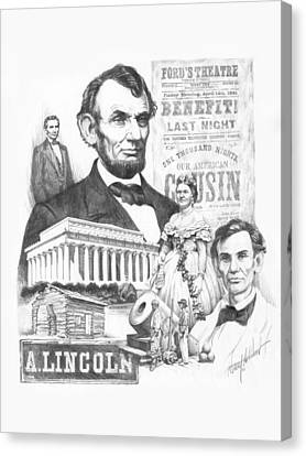A. Lincoln Canvas Print