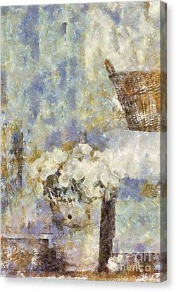 A Little Bit Of Country Canvas Print by Shirley Stalter
