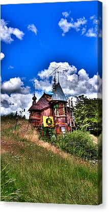 A Little Bit Of Oz In Palouse Country Canvas Print by David Patterson