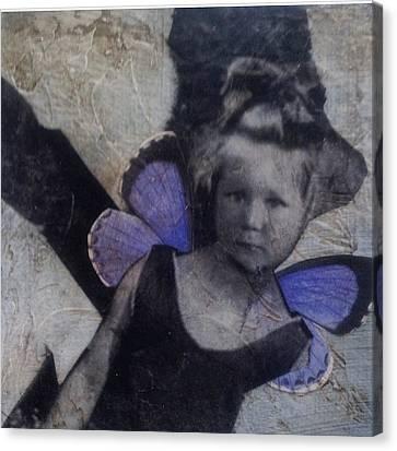 A Little Broken Canvas Print by Susan McCarrell