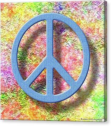 A Little Peace Canvas Print