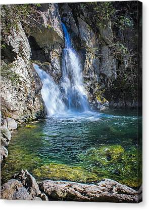 A Little Piece Of Paradise Canvas Print