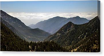 A Lofty View Canvas Print by Ed Clark