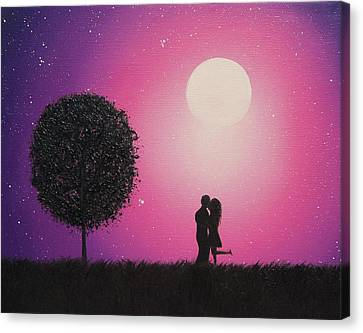 A Love To Know Canvas Print by Rachel Bingaman