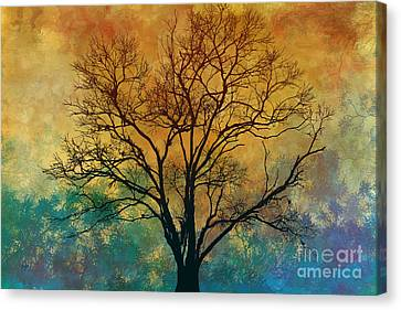 A Magnificent Tree Canvas Print by Bedros Awak