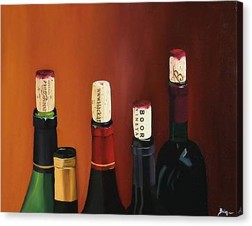 A Maryland Wine Party Canvas Print by Brien Cole