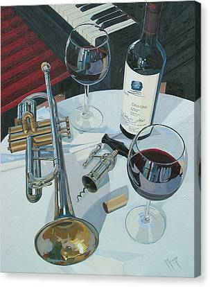 Cellar Canvas Print - A Measure Of Opus by Christopher Mize