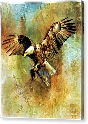 A Mighty Wingspan Canvas Print