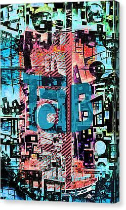 A Million Colors One Calorie Canvas Print