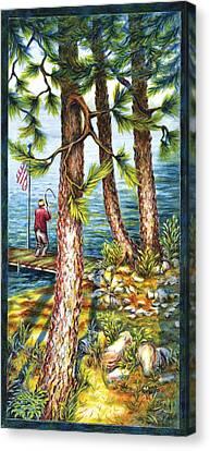 A Minnesota Breakfast Canvas Print