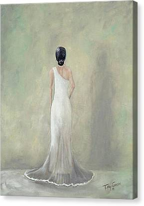 Maid Of Honor Canvas Print - A Moment Alone by T Fry-Green
