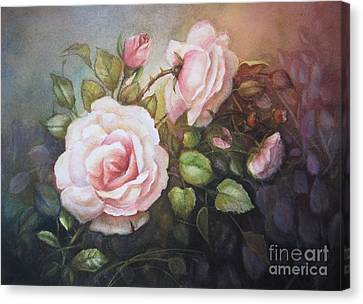 A Moment In Time Canvas Print by Patricia Schneider Mitchell