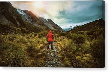 A Moment Of Self Reflection Canvas Print