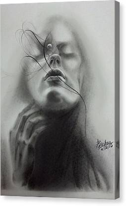 A Moment Suspended In Time Canvas Print by Shashikant Binhan